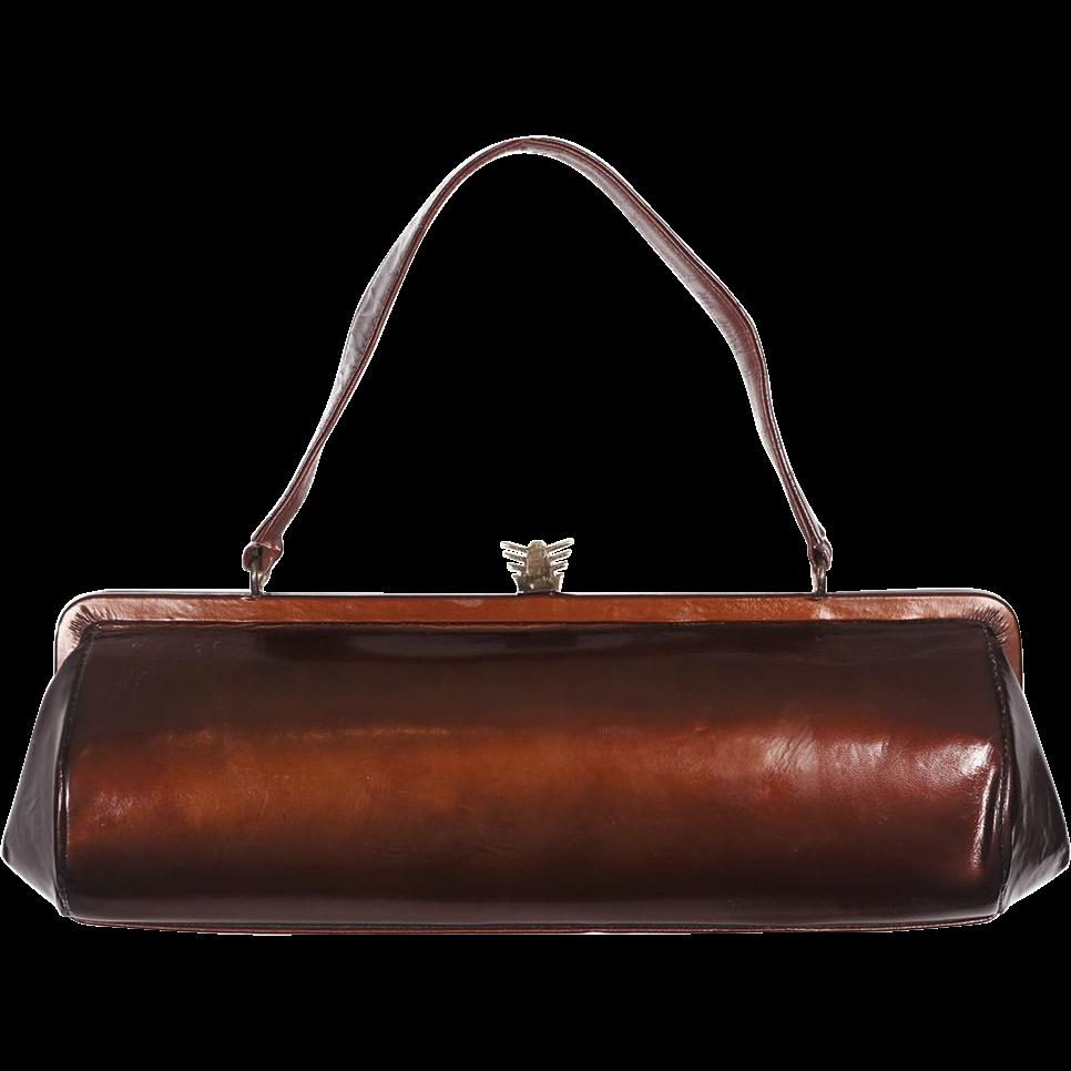 Vintage leather handbags