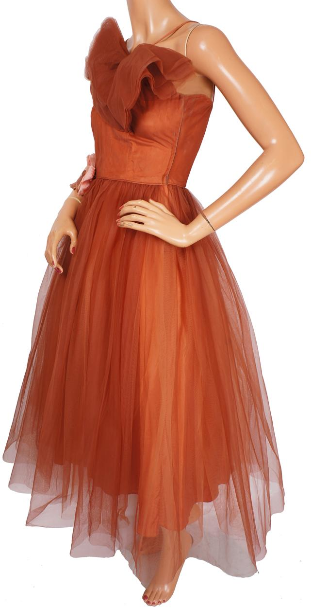 Vintage Brown Prom Dresses 85