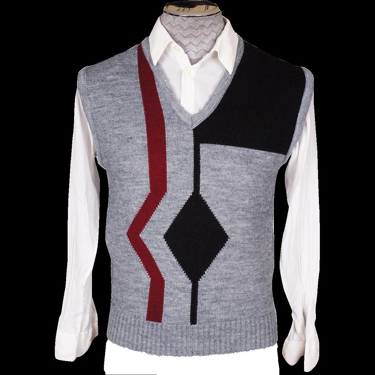 Maroon Sweater Vest