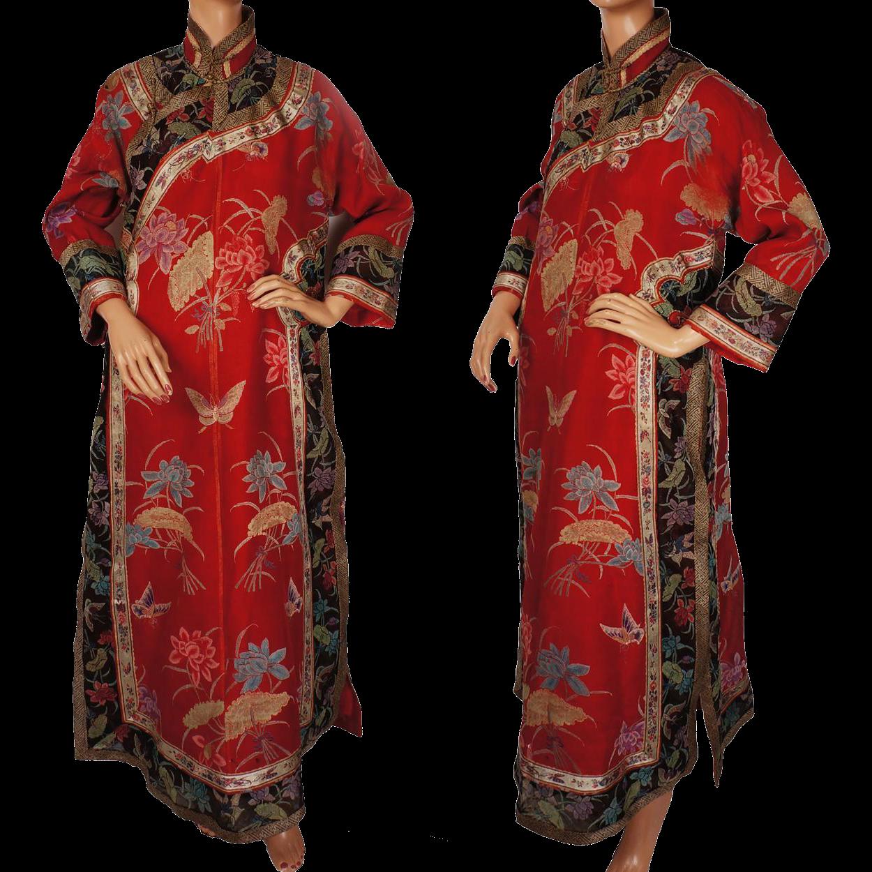 Chinese Kimono Dress