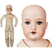Antique Armand Marseille Doll  - 370 w Kid Body - 17 Inch - 3/0 AM