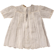 Vintage Baby Dress or 1920s Doll Dress Unused w Original Tag E Corbiere Paris