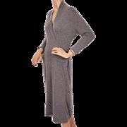 Vintage Cashmere Sweater Dress by Luisa Spagnoli Perugia Italy 1960s Size Medium