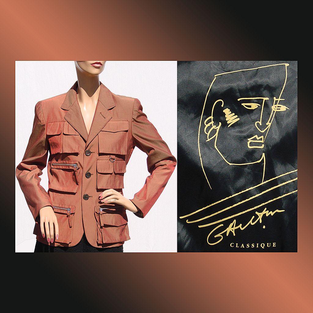 Vintage 1980s Jean-Paul Gaultier Classique Jacket