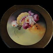Pickard Porcelain Limoges Plate Signed Seidel