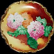 Limoges Coronet Broussillon Charger Plate Decorative Porcelain France