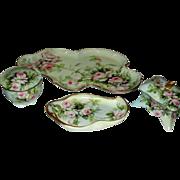 Ester Miler Hand Painted Porcelain Vanity Set