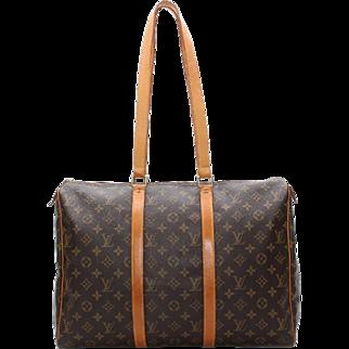 Vintage Authentic Louis Vuitton Sac Flanerie 45 Shoulder Bag