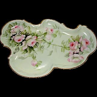 Ester Miler Large Porcelain Vanity Tray Signed