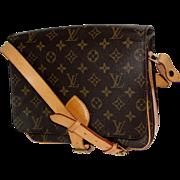 Authentic Vintage Louis Vuitton Cartouchiere Cross Body Bag