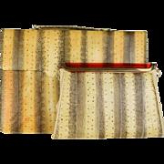 Snakeskin Briefcase Laptop with matching Chain Purse Handbag