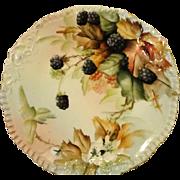 Ester Miler Signed Tressemann and Vogt Limoges Porcelain Plate RARE