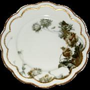 Haviland Limoges Feu De Four Porcelain Dinner Plate 9.75 Inches