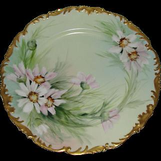 3 Day Sale ! TV Limoges Heirloom Porcelain Plate Signed Ester Miler