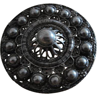 Vintage Brooch Pin Unmarked