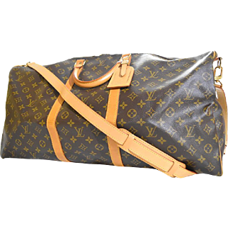 Monogram Keepall Bandouliere 60 Duffle Travel With Strap Brown Travel Bag
