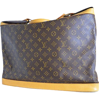 Authentic Vintage Louis Vuitton Travel Bag Monogram Cruiser 50