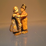 Country Couple Dancing in Bronze - Victorian