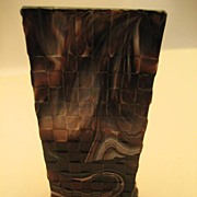 Pressed Glass Spill Vase from Sowerby - Victorian
