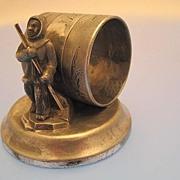 American Figural Napkin Ring - Victorian