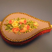 Figural Pin Cushion; Bellows - Victorian