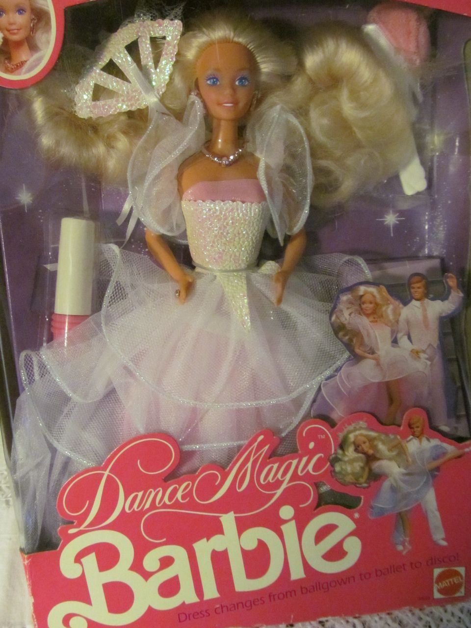 1989 Mattel Barbie Dance Magic, MIB