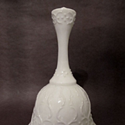 Fenton Spanish Lace, Silver Crest Bell