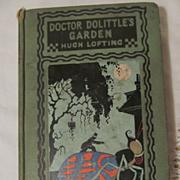 1927 Doctor Dolittle's Garden, Hugh Lofting, Frederick A Stokes Co