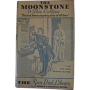 Moonstone, HB DJ, Wilkie Collins, The Sun Dial Library, Harper & Brothers, Garden City Publishing Company