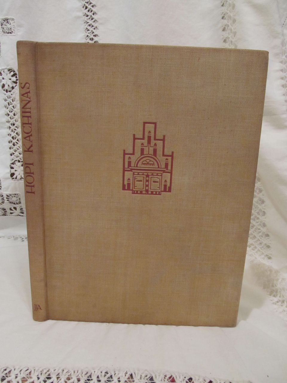 1938 Hopi Kachinas,First Edition, 28 Color Plates, Edwin Earl, Edward A Kennard, Published by J J Augustin, The Waverly Press