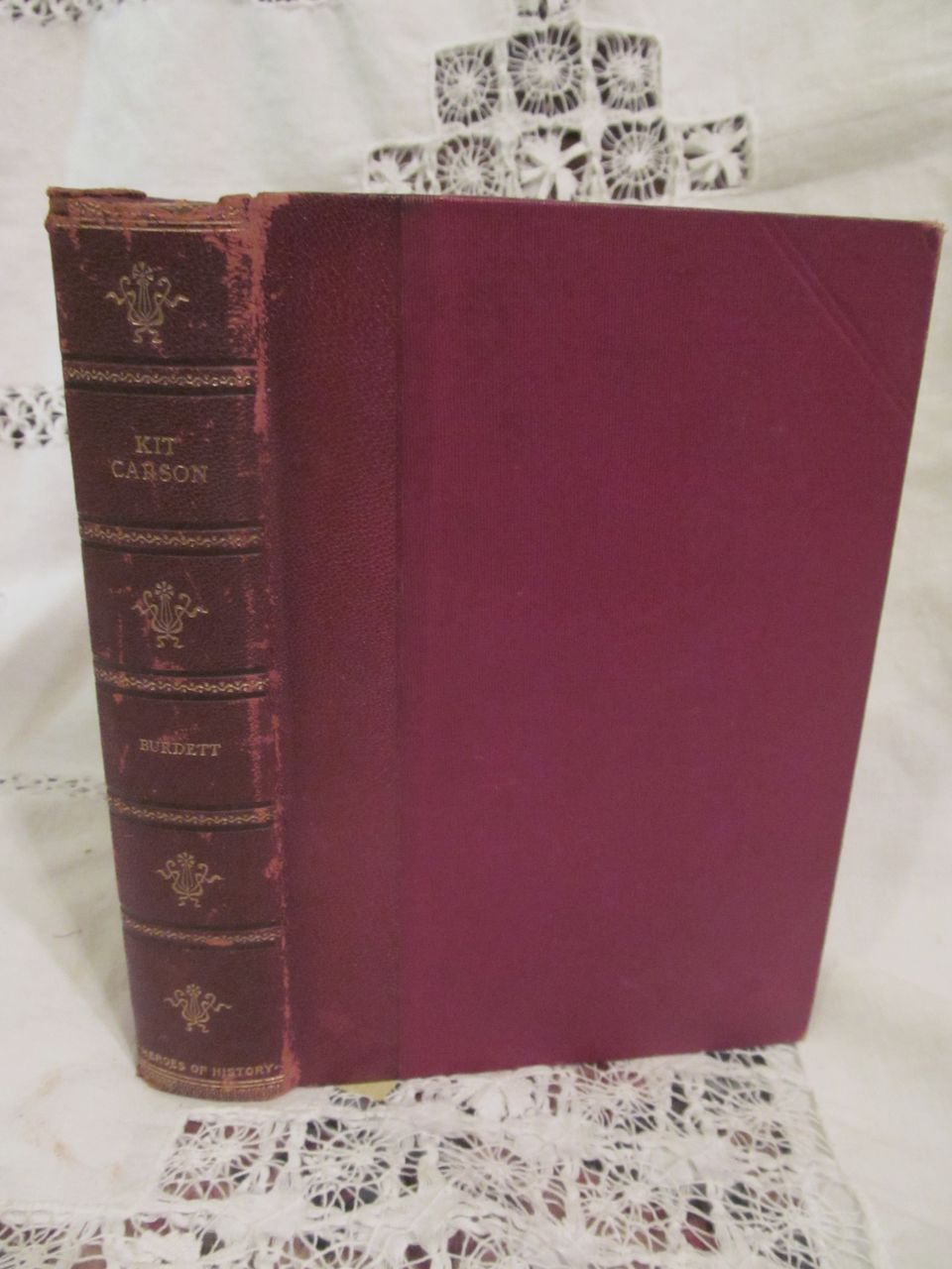 1902 Kit Carson, The Great Western Hunter & Guide by Charles Burdett, G mercer Adam, Perkins Book Company, E A Brainerd