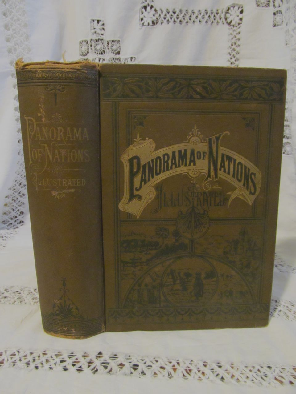 1890 Panorama of Nations, Journeys Among the Family of Men, Illustrated, H G Cutler, LW Yaggy, Star Publishing Company