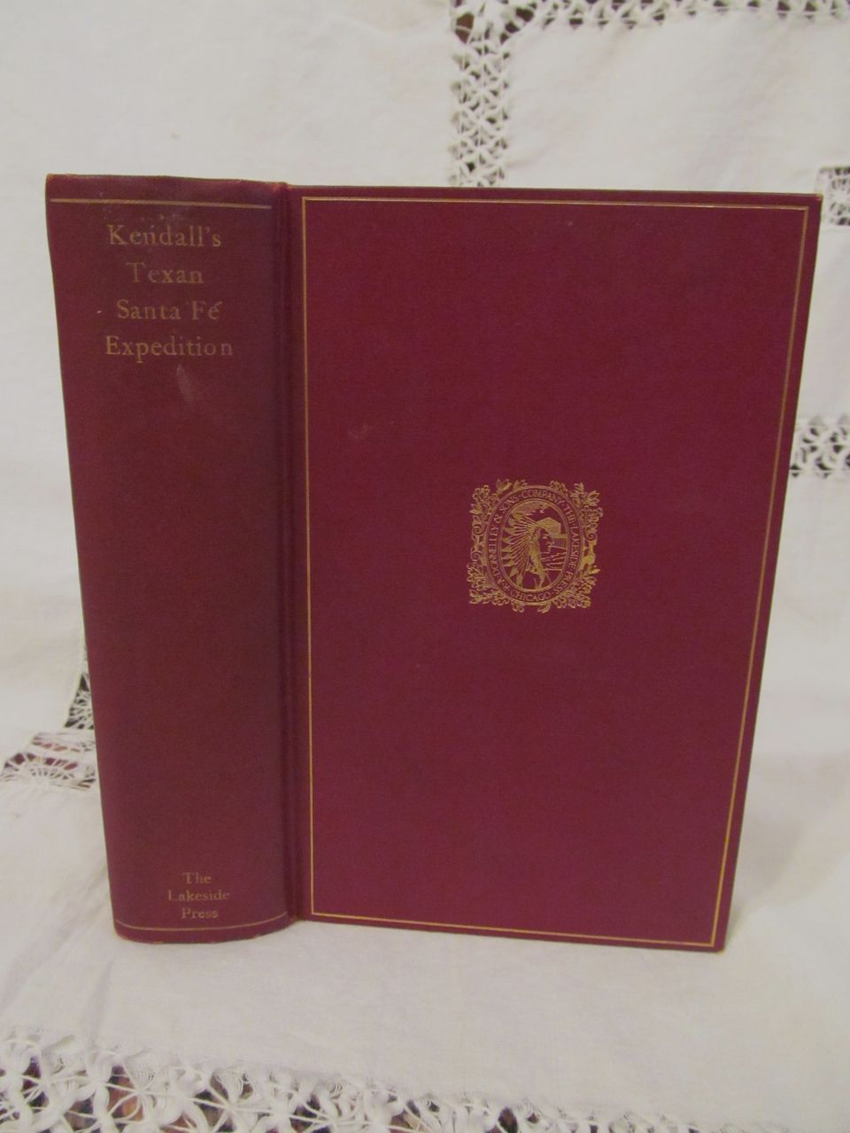1924 Narrative of the Texan Santa Fe Expedition by George Wilkins Kendall, The Lakeside Classics