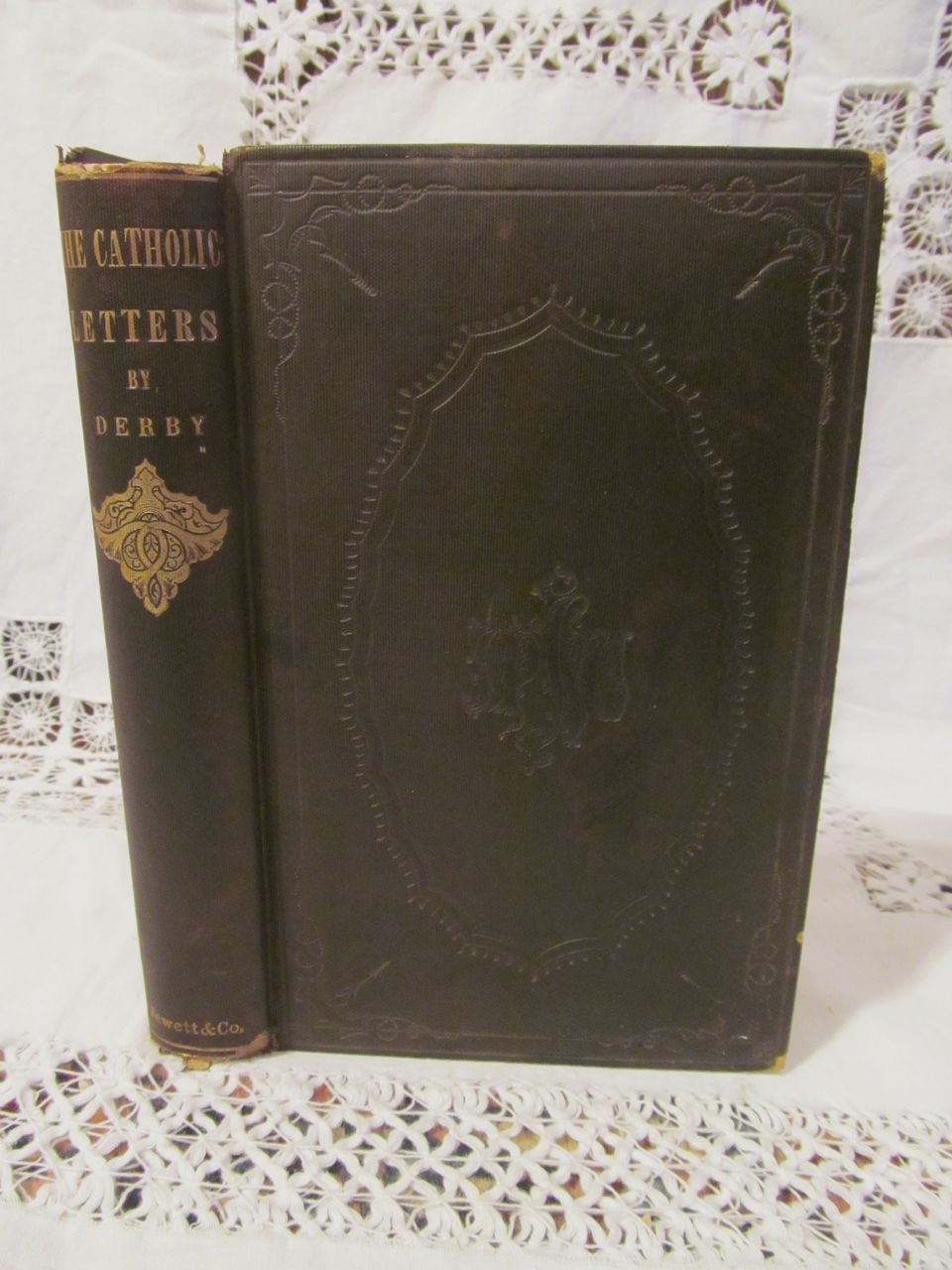 1856 The Catholic Letters by E H Derby, Publ by John P Jewett & Company