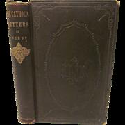 1856 The Catholic Letters by E H Derby,  John P Jewett & Company