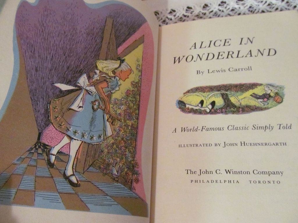 book report on alice in wonderland by lewis carroll Lewis carroll published alice's adventures in wonderland in 1865 it begins with alice sitting alongside a riverbank with her sister alice's sister is reading a picture-less book, which bores.