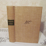 1938 Madame Marie Curie, A Biography by Eve Curie, Illustrated, Publ Doobleday Doran & Company Inc