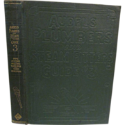1925 Audels Plumbers and Steam Fitters Guide #3 by Frank d Graham & Thomas J Emery, Publ Theo Audel & Co