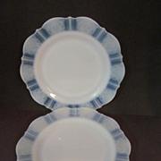 "2 American Sweetheart Monax 9"" Plates, MacBeth Evans"