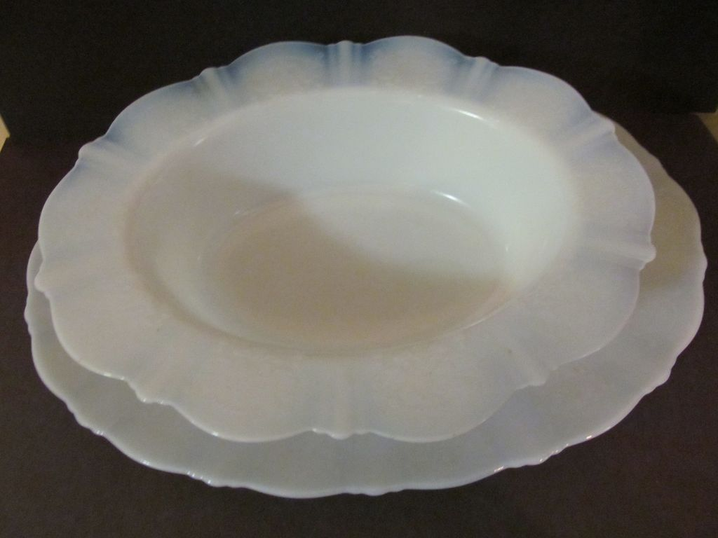American Sweetheart Monax Vegetable Bowl & Platter, MacBeth Evans
