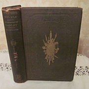 1860 The Oak Openings: or The Bee Hunter by J Fenimore Cooper, Publ W A Townsend and Company