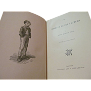 1899 The William Henry Letters by abby Morton Diaz, Illustrated, Publ Lothrop, Lee & Shepard Co