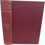 1906 Early Western Travels 1748-1846, Volume XXIII, Maximilian Part II, Edited by Reuben Thwaites, Publ The Arthur H Clark Company
