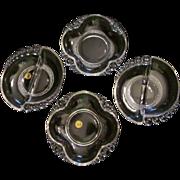 4 Duncan Miller,Tear Drop Relish, Serving Bowls