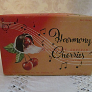 Harmony Chocolate Covered Cherries Candy Box