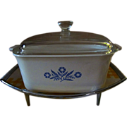 Corning Pyrex 1 1/2qt Covered Casserole with Cradle