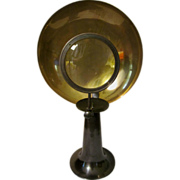 Medical Scientific Candle Optical Magnifying Glass & Parabolic Reflector