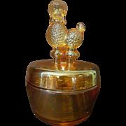Jeannette Poodle Powder Box, Jar