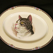 Noritake Meringo Cat Platter