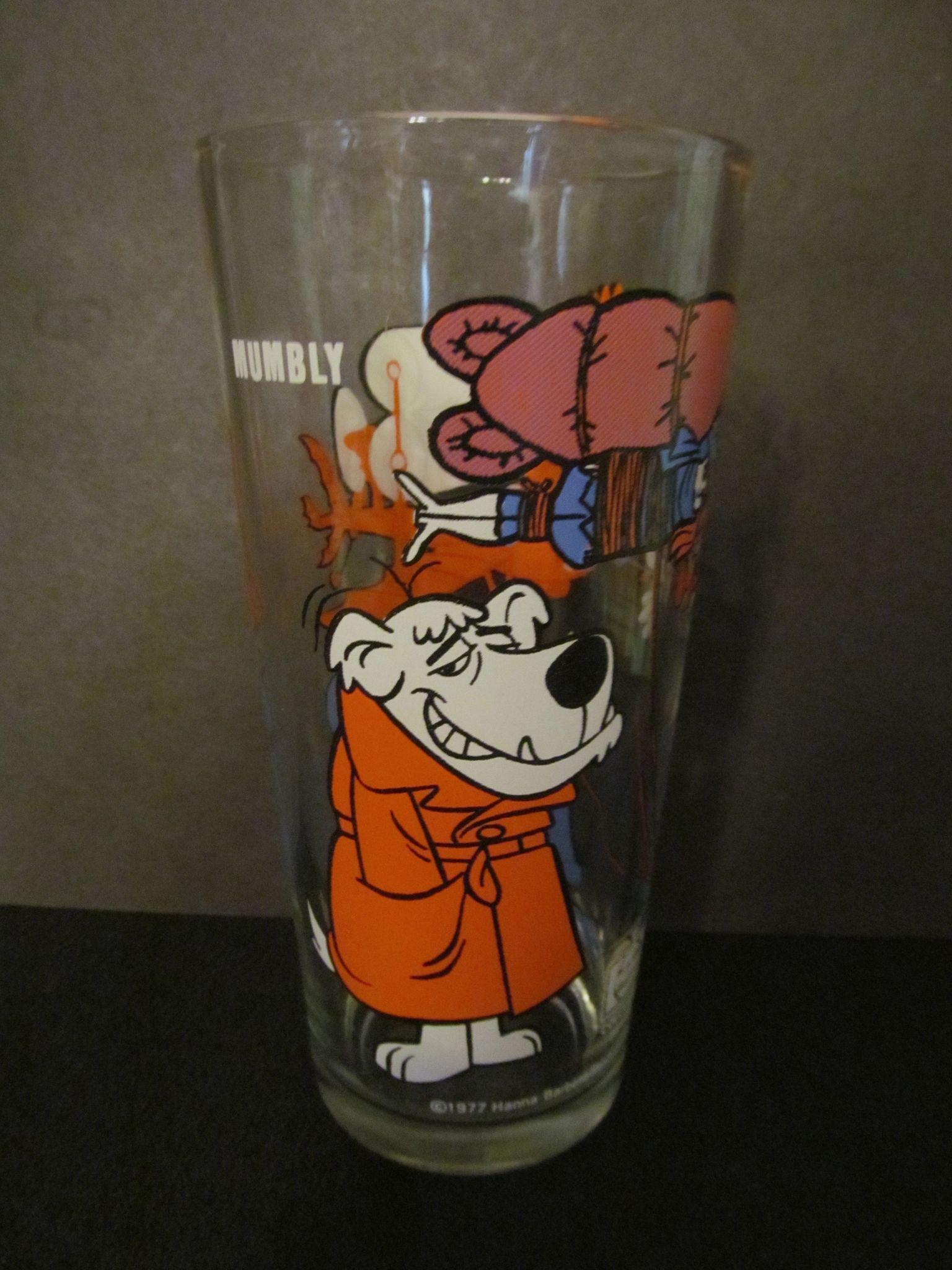 1977 Mumbly, Warner Bros Pepsi Glass